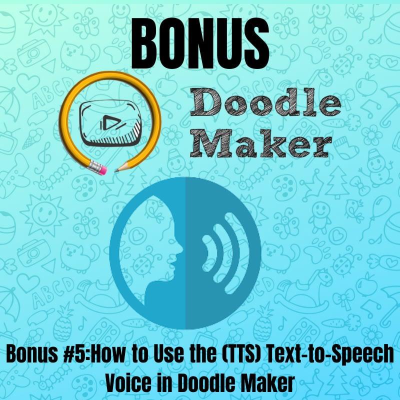 Doodle Maker- Bonus5