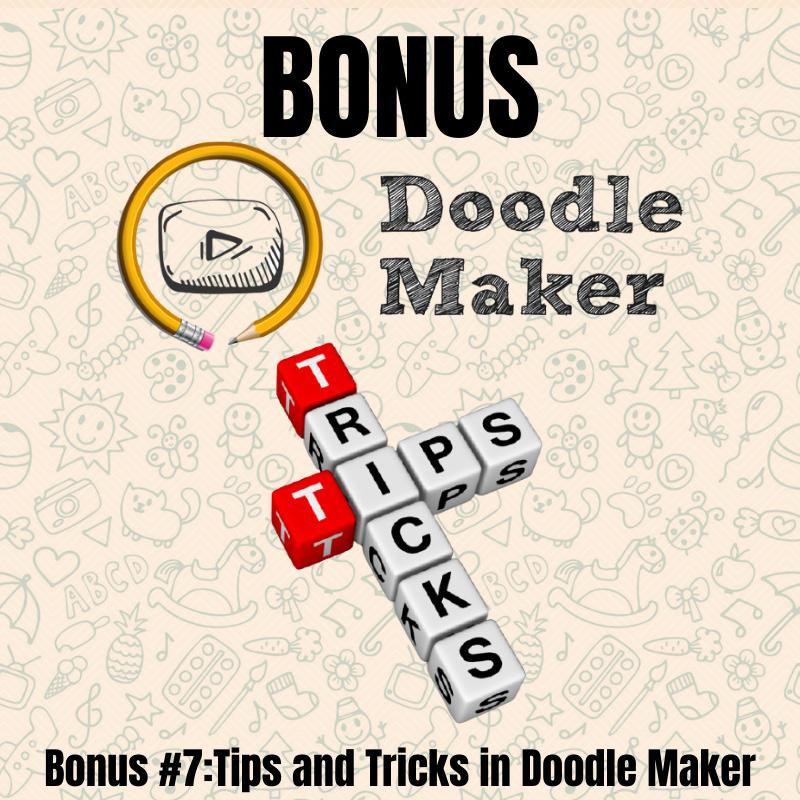 Doodle Maker- Bonus7