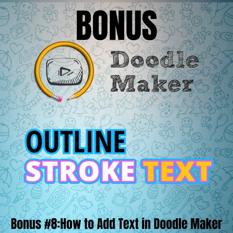 Doodle Maker- Bonus8