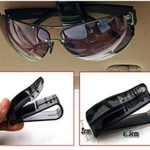 05_Portable Car Vehicle Sun Glass Clip Storage Holder