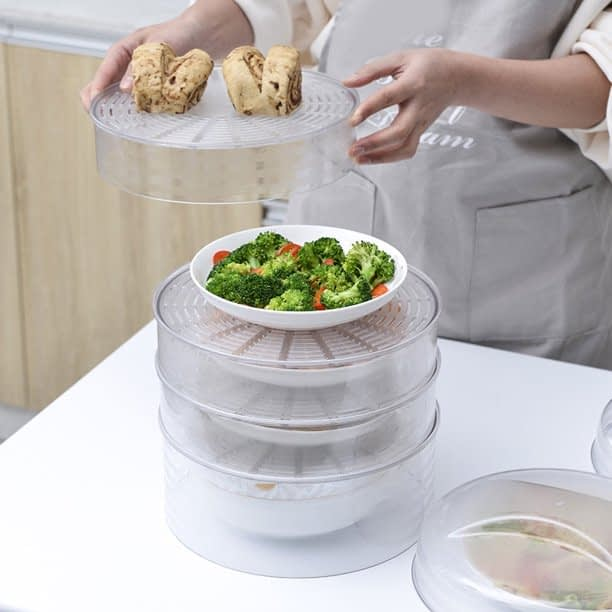 11_Insulation Dish Cover Meal Food Cover Winter Thick