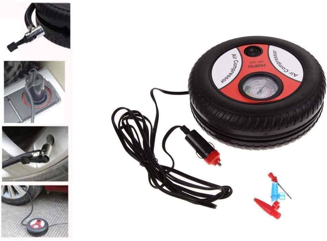14_Air Compressor Car Tyre Tire Inflator